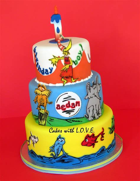 Dr Widya Two Way Cake dr seuss cake cakecentral
