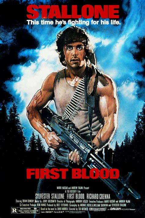 film rambo komedi first blood 1982 ilk kan filim adamı