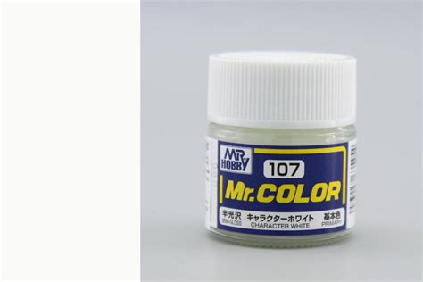 Mr Color 181 Semi Gloss Clear semi gloss character white by mr color guz c107 107