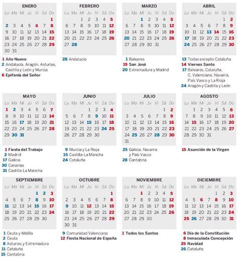 Calendario Laboral 2018 Murcia Ayuntamiento De Alhama De Murcia Calendario Laboral De 2017