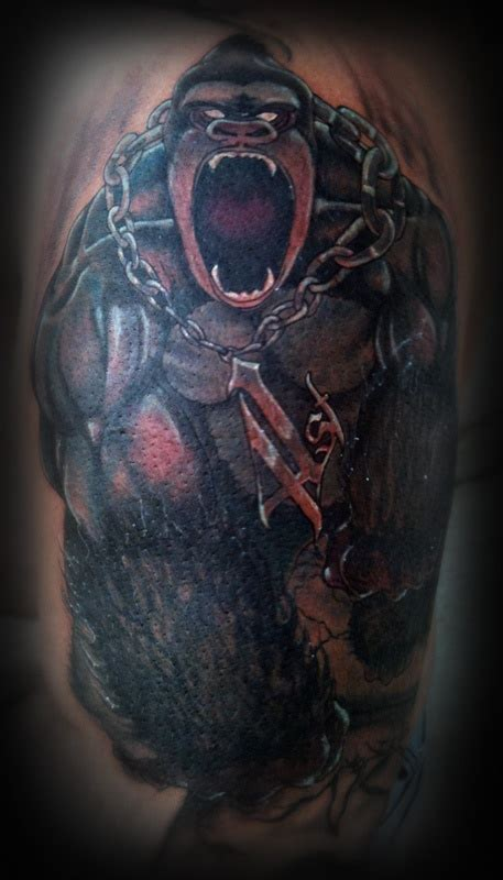 tribal gorilla tattoo 59 best ideas images on