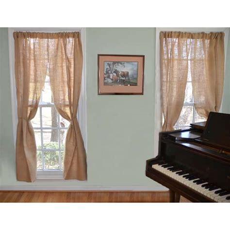 high and wide curtains buy and save on burlap curtains and window dressings