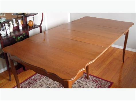 solid maple antique dining table cbell river cbell