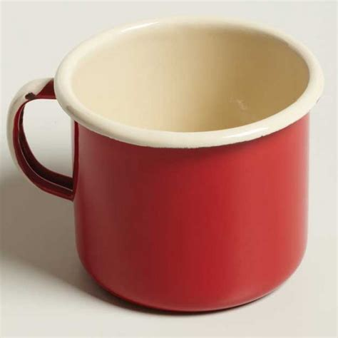 Mug Idealenamelcangkir Diameter 10 Cm emalia enamel mug height diameter 9 cm supplied by dowricks goodlife