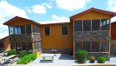 Noel Missouri Cabins by Noel Missouri Float Trips Elk River Cing River Ranch