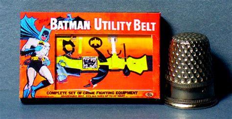 batman doll house batman utility belt toy box doll house miniature by lcminiatures