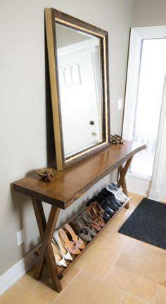 Shoe Rack Entry Table 1000 Ideas About Wood Shoe Rack On Shoe Racks