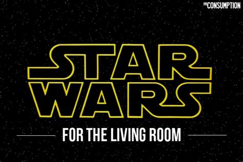 Wars Living Room by 9 Ways To Work Wars Into Your Living Room Hiconsumption