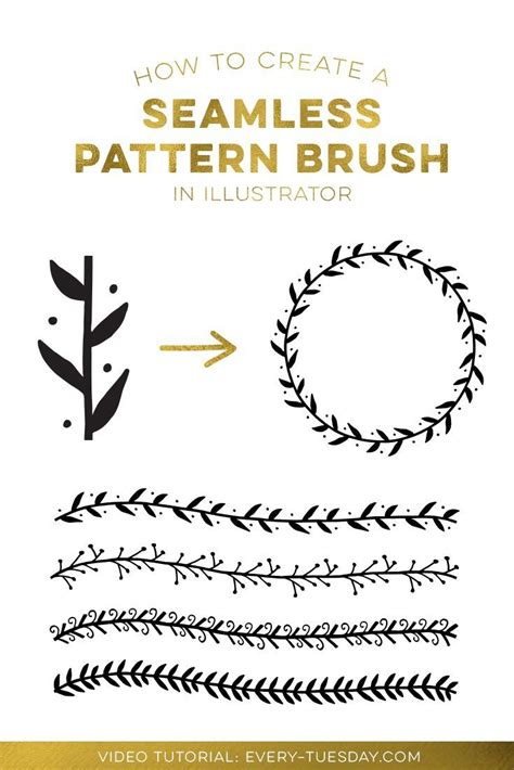 edit pattern brush illustrator 895 best design tutorials images on pinterest graphic