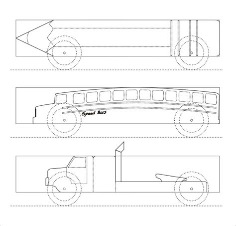 pinewood derby skateboard template 27 awesome pinewood derby templates free sle