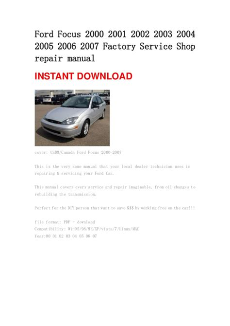 ford ka repair manual