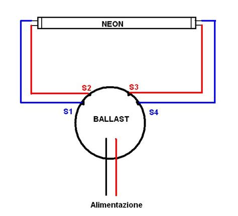 lade t5 per acquario schema ballast elettronico consiglio tecnico reattore per