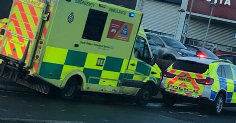 plymouth herald contact crash involving car and motorbike outside plymouth retail