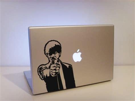 design laptop decal make fun of apple mac vinyl laptop decal design swan