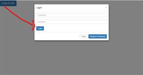 cara membuat login dengan bootstrap cara membuat modal popup dengan bootstrap jendela dunia