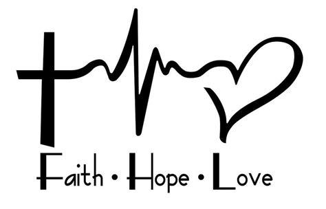 love tattoo foundation faith hope love laptop car vinyl window decal sticker 4