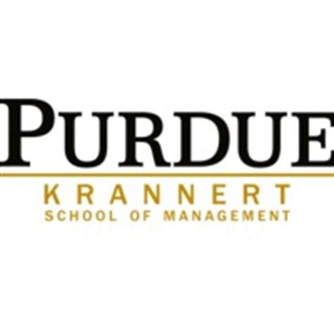 Purdue Mba Cost by Krannert School Of Management