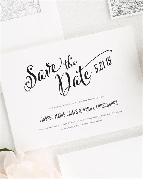make save the date cards free modern script save the date cards save the date cards by