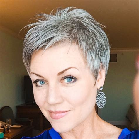 best 25 short silver hair ideas on pinterest grey hair