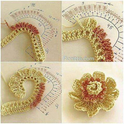 fiori fatti con l uncinetto pi 249 di 25 fantastiche idee su fiori fatti all uncinetto su