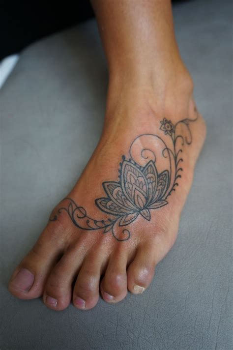 lotus flower foot tattoo designs fantastic page 3 of 313 ideas for sleeve