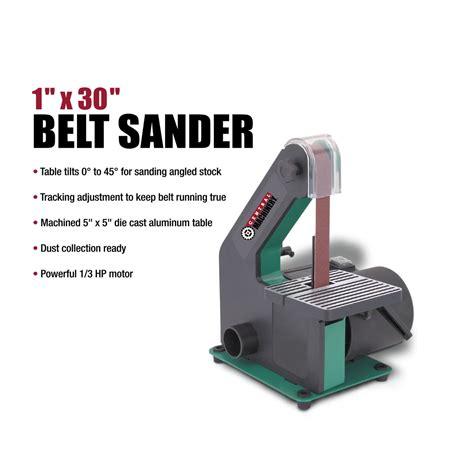 bench belt sanders for sale 1 in x 30 in belt sander