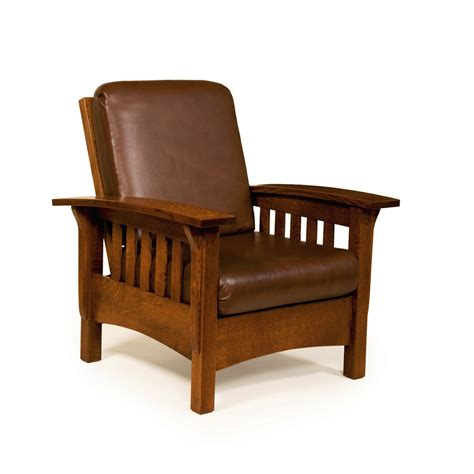 Morris Armchair by Amish Made Morris Chair Lancaster Pa Snyder S Furniture