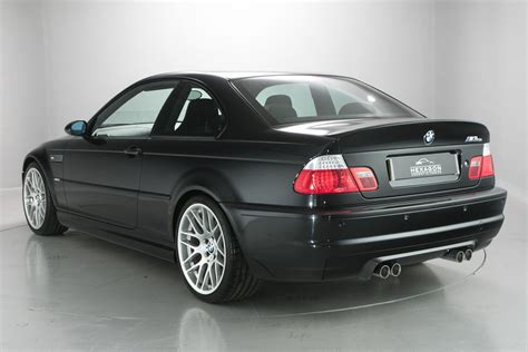 bmw m3 e46 csl black bmw m3 csl duo is motoring nirvana carscoops