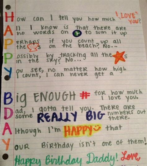 Handmade Gifts For Dads Birthday - 25 best ideas about birthday cards for on