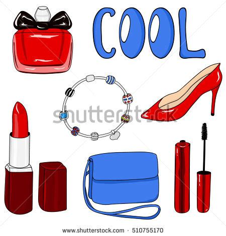 Fashion Cool Tools To Find It by Set Tools Manicure Drawing Manicure Stock Vector