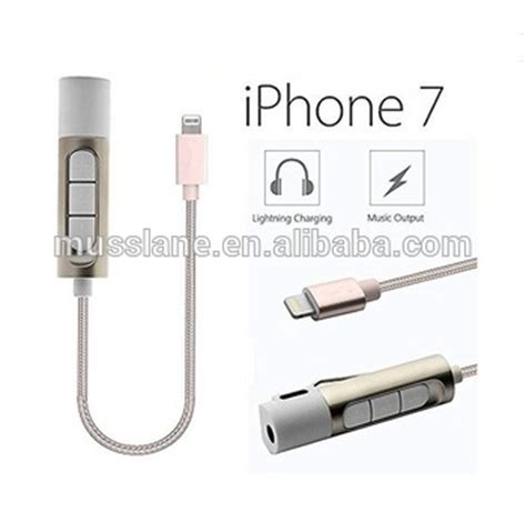 Charger Plus Headset Oc Iphone 2 in 1 charger lightning to 3 5 mm headphone adapter for iphone 7 lightning adapter