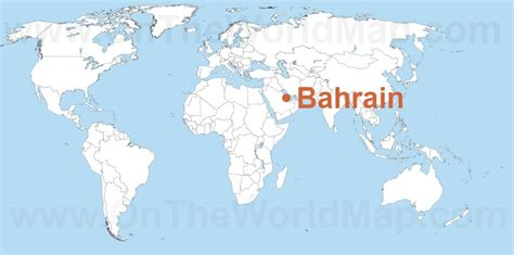 bahrain on world map bahrain on the world map bahrain on the asia map
