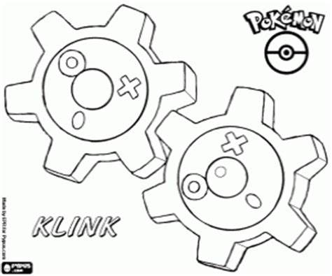 klink pokemon coloring pages pok 233 mon black and white coloring pages printable games 3
