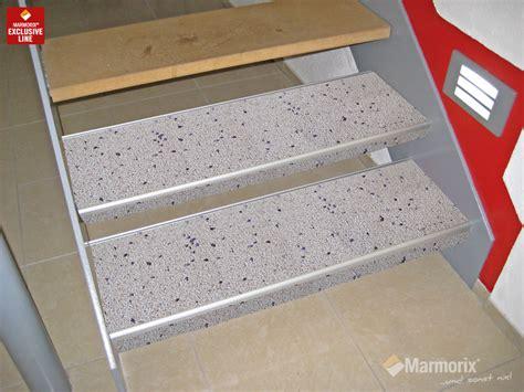 Steinteppich Auf Holztreppe by Marmorix 174 Steinteppich Verlegebeispiele Treppen