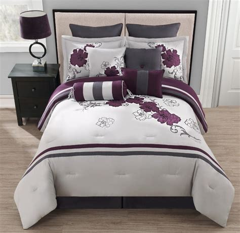 gray and purple comforter 25 best images about purple and grey bedroom on pinterest