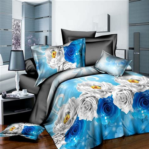 blue rose comforter set online get cheap blue rose comforter aliexpress com