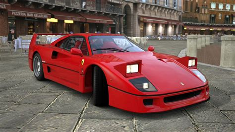 Ferrari F40 with pop up headlights. It seemed to be just