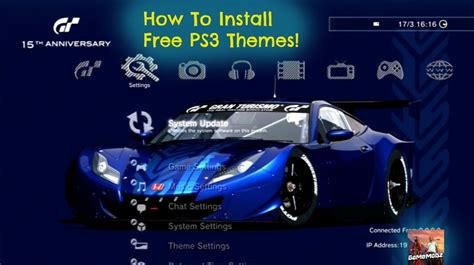 slideshow themes ps3 ps3 how to get free themes slideshow etc no jailbroken