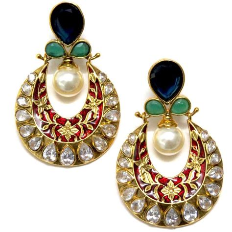 kundan jewellery trends 2014 for women 005 life n fashion