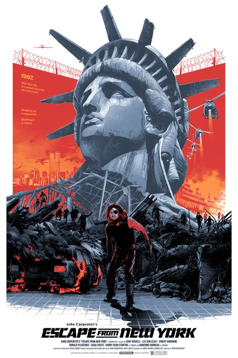 Poster Escape From New York 30x40cm escape from new york gabz