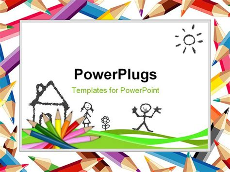 free powerpoint templates children template backgound of education children