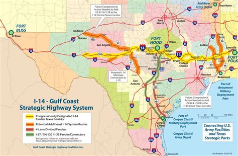 interstate 69 texas map mdc backs motran s i 14 project change san antonio express news