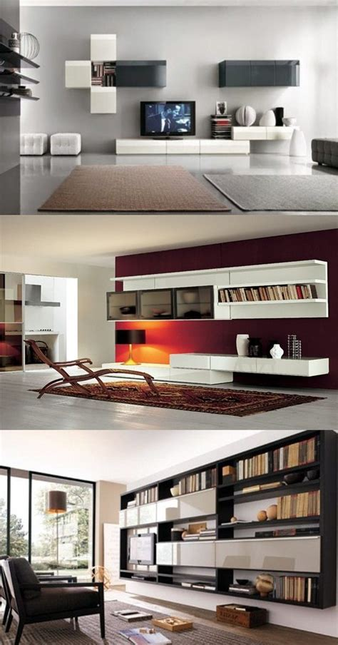 Design Wall Units For Living Room by Modern Living Room Wall Units Designs Interior Design