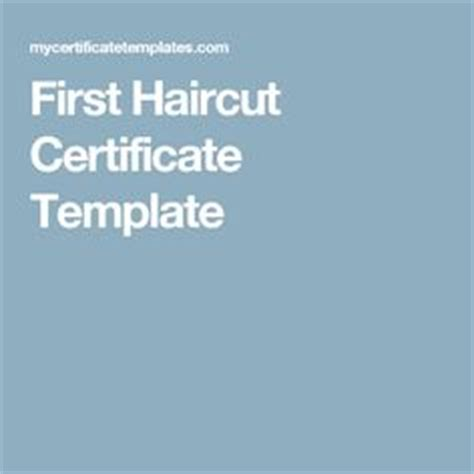 1000 Images About Al Tatom Would Love This On Pinterest Bandsaw Box First Haircut And Haircut Certificate Template