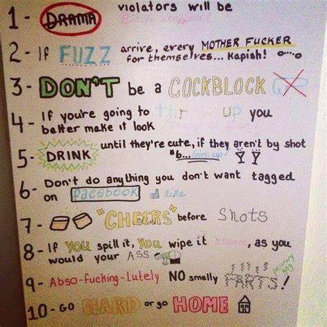house party rules house party rules fun fun fun pinterest house party rules party rules and haha