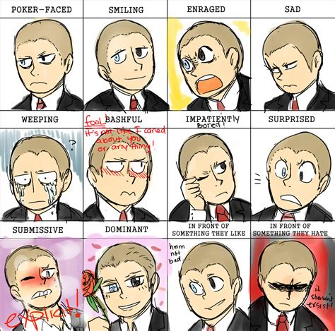 Facial Expression Memes - pixiv facial expressions meme corporate kane by