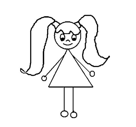 little girl 12 coloring page coloringcrew com