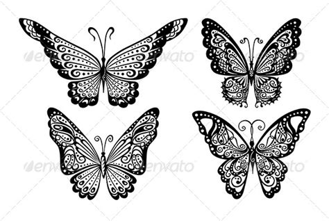 Decorative Butterflies by How To Draw Butterflies 187 Dondrup