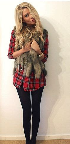 Two Tone Shirt W 038 best 25 fur vests ideas on plaid shirt with