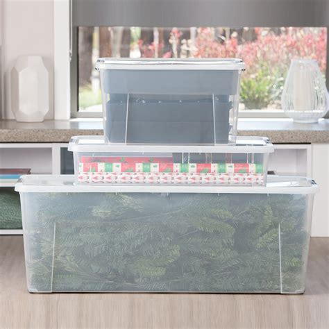 130l 137 3 qt christmas tree tub ezy storage